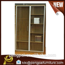 Steel frame tall file book case with grass
