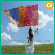Bandera de vuelo nacional de bandera personalizada de fútbol