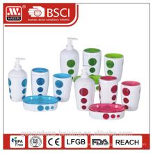 4 штук mordern пластиковая Ванная set(0.3L)-два слоя