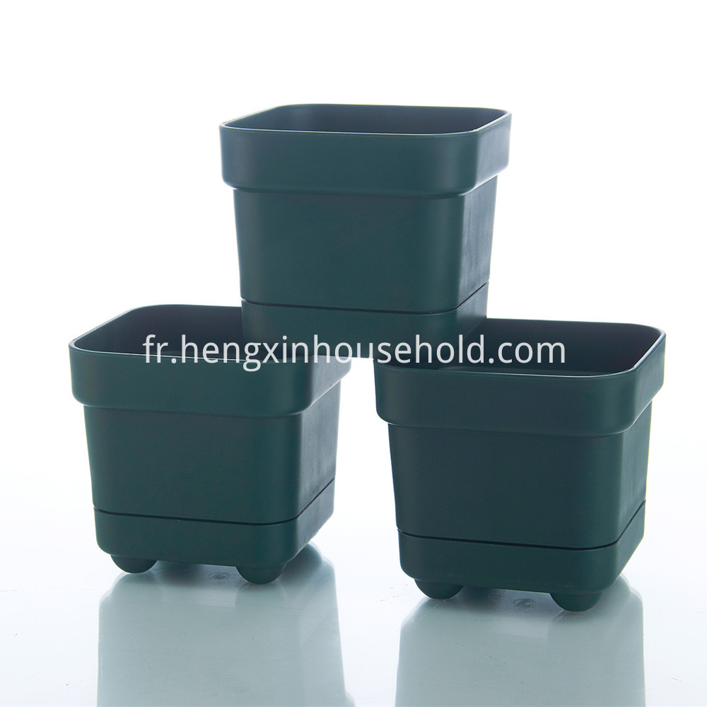 Plastic Square Pots for Plants
