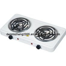 Doble espiral hornilla eléctrica, horno eléctrico