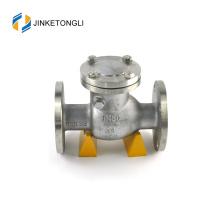 """JKTLPC004 válvula de retención de 1 1/2 """"con brida de acero inoxidable con elevación cargada"""