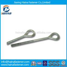High quality Zinc plated carbon steel eye bolt with machine thread