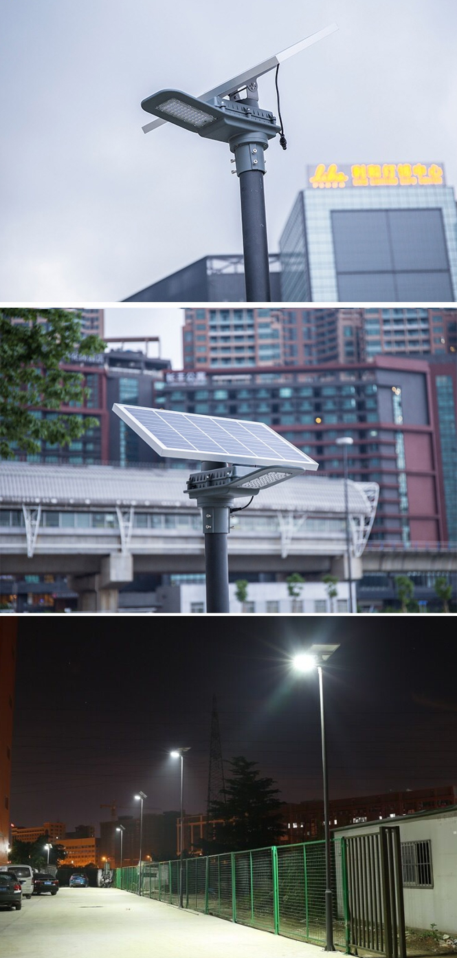 solar street light application delight eco energy