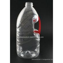 Forme unique / Mélange de bouteille d'huile en plastique de 5 litres