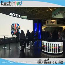 Grand écran polychrome d'intérieur d'arrière-plan d'étape de lancement de P4.8mm / écran de TV