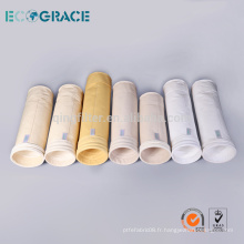 Haute qualité bas prix Homopolymère acrylique filtre sacs feutre