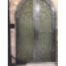 Sicherheit verwendet Schmiedeeisen Tür Tor Design Haupteingang Tür