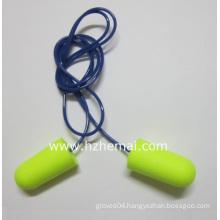 Corded Bullet One Time Use PU Foam Earplug