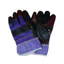 Kuh Split Handschuh, Palched Palm Leder Arbeitshandschuh
