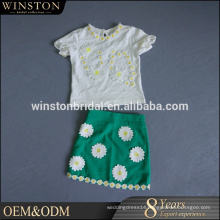 High Quality Latest fancy boutique children clothes