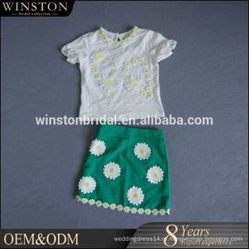 2016 Производитель Китай платье дешевые новорожденный комплект одежды