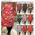 Cheap China Granel Por Atacado Família Roupas Combinando Vestido Para As Mulheres Senhoras Traje Da Árvore de Natal