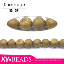 Pretty Round Handmade Bracelet Beads Jewelry Natural Stones