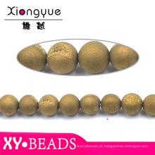 Muito redondos grânulos Bracelete Handmade pedras de jóias naturais