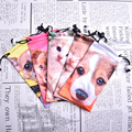 Digital Print Suede Sunglass Pouch