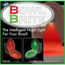 Lampe de nuit DEL pour détecteur de toilettes