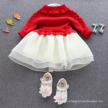 рождественские платья дети красные юбки свитера для детей рождественские детские красные платья, свитера симпатичные платья хорошего качества