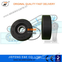 JFThyssen Escalator Step/Chain Roller 1705060100 Black Color 75*24mm 6204 Escalator Roller