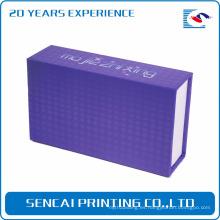 Caja de embalaje hecha a mano del anillo de lujo de SenCai