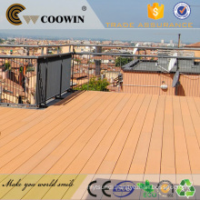 Recyclable WPC Deck Flooring , Anti - UV Engineered WPC Decking Lumber