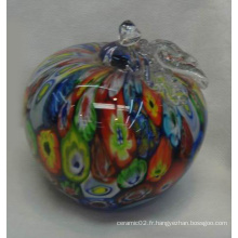 Papier en verre de forme de pomme - 10bg01055