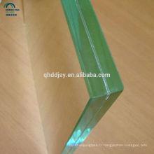 Vente chaude 6.38mm 8.38 mm cloison de bureau en verre feuilleté avec pvb