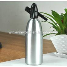 Kithcen presente casa sifón de soda de aluminio con tapa antigua 1 litro
