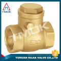stainless steel sanitary check valve handel with filter union forged brass body with onw way high pressure NPT threaded connecti