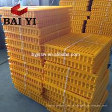 Cofragem de frango dobrável de plástico pequena / preço da gaiola de transporte de aves