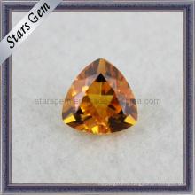 Trillian Cut Новая мода Полудрагоценный камень Цитрин