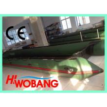 Barco de resgate inflável militares de China, grande barco do PVC
