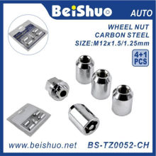 4+1 PCS/Set Wheel Lock Nut for Car Security