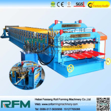 FX auto sandwich panel sheet double layer cold roll forming machine