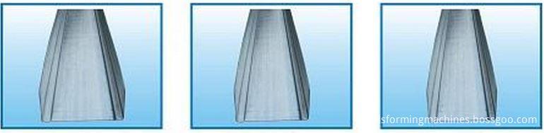 Drywall U Channel Forming Machine