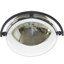 China Suppliers Road Safety Full View 180 Degree Dome Mirror, Low Price Traffic Safety Products Acrylic Indoor Convex Mirror