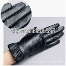 hot sale wrist sleeves leather driver glove