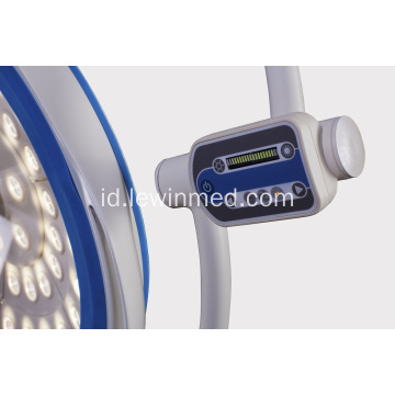 Floor type LED Operating Lamp dengan roda