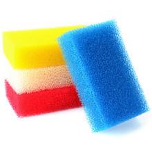 Bunte Reinigungsprodukte