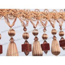 Fancy Perlen Fransen / Vorhang Fransen / Vorhang Perlen Fransen