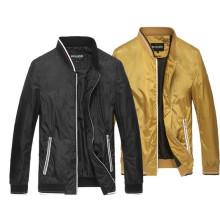 Großhandel Herren Winter Plain Zipper Jacken