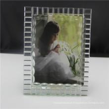 Quadros claros vazios da foto do cubo de cristal vazio para religioso