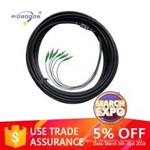 Tranças de fibra óptica impermeável barata de alta qualidade FC / SC