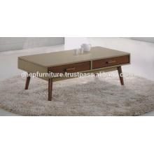Table basse en bois avec tiroir