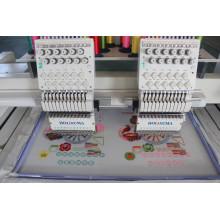 HOLiAUMA 2 cabeça 15 agulhas computadorizado bordado máquina para uso comercial e industrial