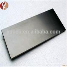 Chine plaque de tungstène W1 W2 pure de 99,95% à vendre
