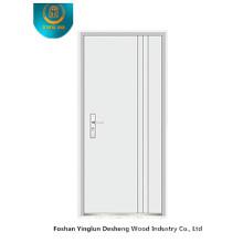 Porta de segurança blindada estilo Fasion (branco)