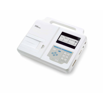 Single One Channel ECG Machine EKG Electrocardiograph Big Screen Holter Paper Ce Certificate (SC-CM100)