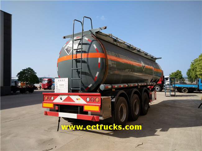 Hydrochloric Acid Trailer Tankers