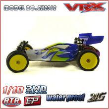 VRX 1/10th escala 2WD elétrico do brinquedo mundo do rc carro de corrida